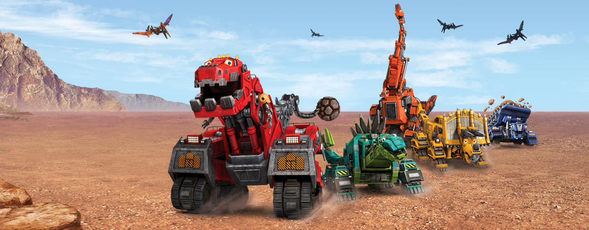 Dinotrux App for Kids – fun construction mobile game based on the Netflix show