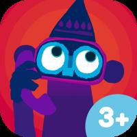 Hut-Affe Kinder-App von Chris Haughton – lustiges Haustier-Spiel für Kinder ab 3 Jahren