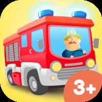 Kleie Feuerwehr Spiele-App für Kinder – Feuerwehrauto und Feuerwache