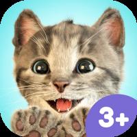 Kleines Kätzchen Kinder App – spiele mit deiner Lieblings-Katze und füttere sie