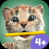 Kleines Kätzchen und Freunde Kinder App – Lernspaß für die Vorschule