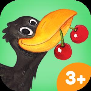 HABA Obstarten Spiele-App für Kinder – spiel mit dem Raben Theo und lerne Farben und Formen kennen