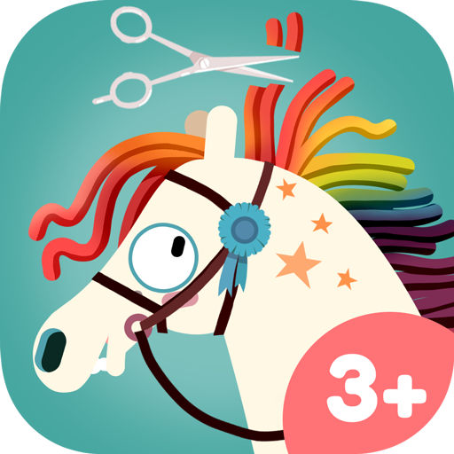 App Icon Pony Style Box – horse hairdresser and styling game for kids