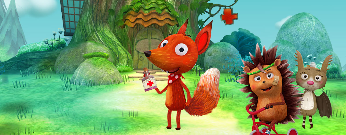 Little Fox Animal Doctor – beautiful 3D vet game for children