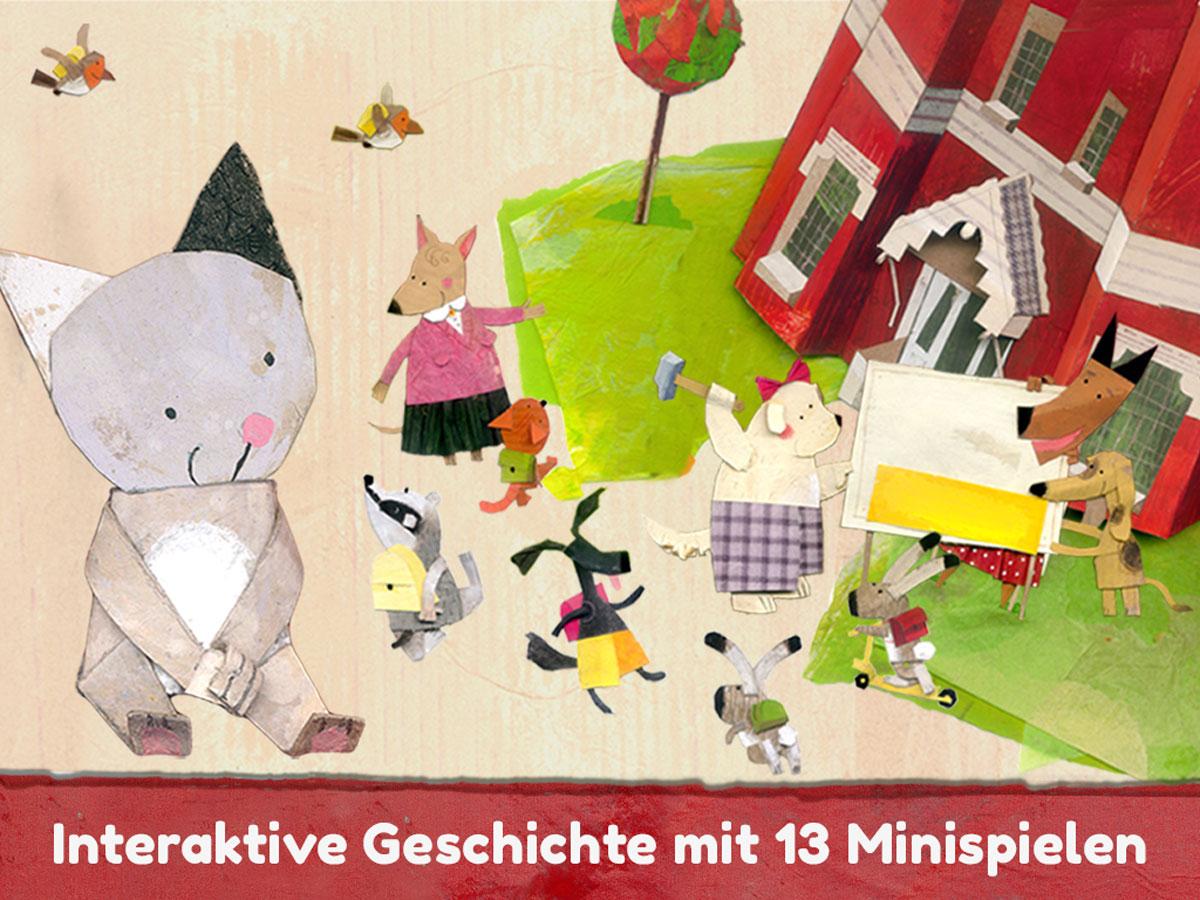 Lucy & Pogo App für Kinder – Interaktive Geschichte mit 13 Minispielen