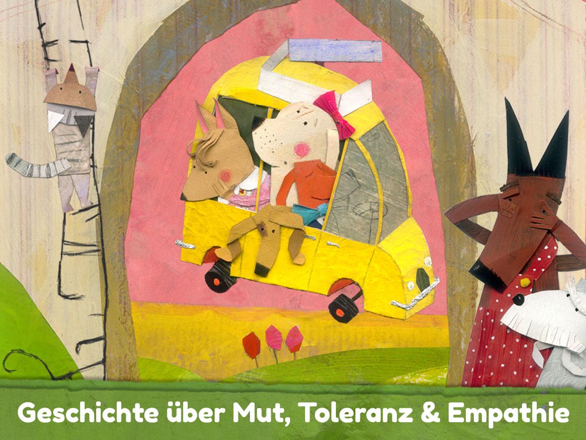 Lucy & Pogo App für Kinder – Kinderbuch App über Mut, Toleranz und Empathie