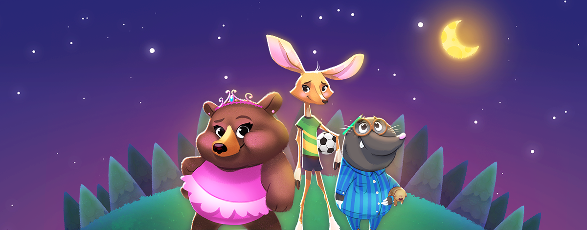 Nighty Night Forest – Lovely Bedtime Story App for Kids