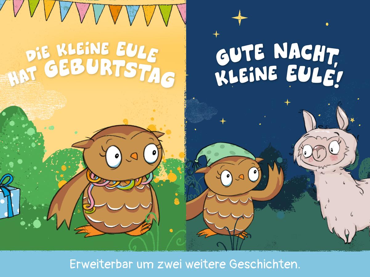 Kleine Eule App – Geburtstags und Gute Nacht Geschichte