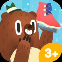 Kinder App Icon Nice Skating