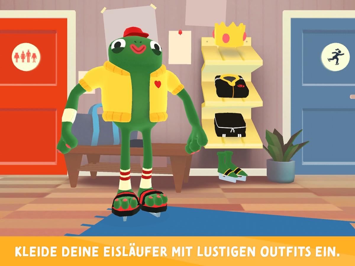 Nice Skating Kinder App – Lustige Outfits und Accessoires