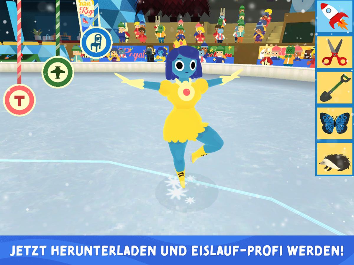 Nice Skating – Eislauf App für Kinder für iOS und Android