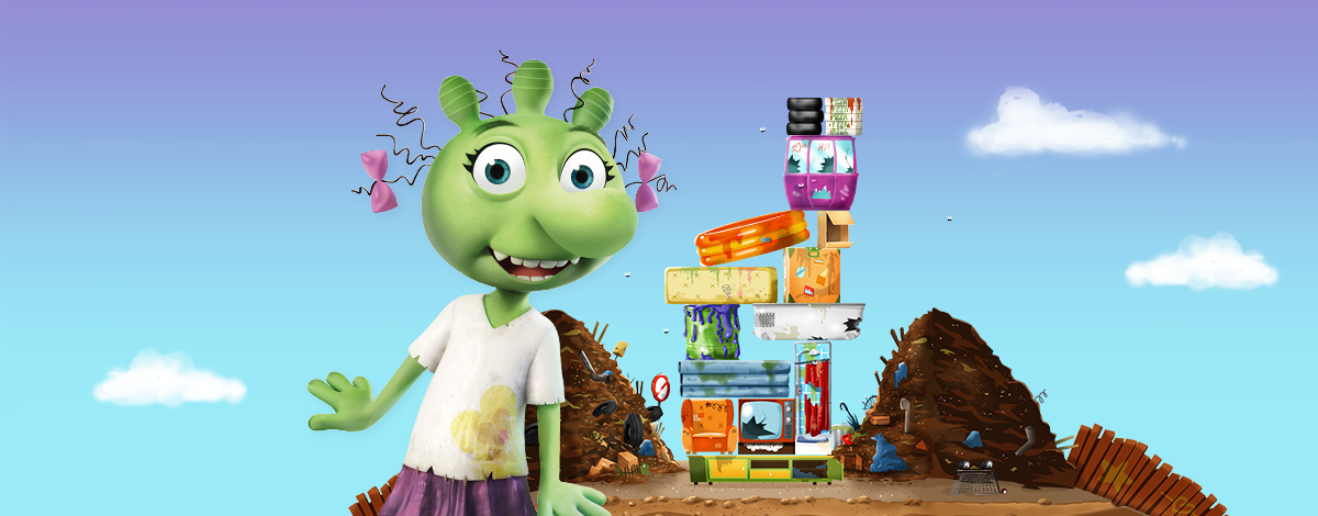 The Ogglies Children's App – Tower Stacking Game for Kids
