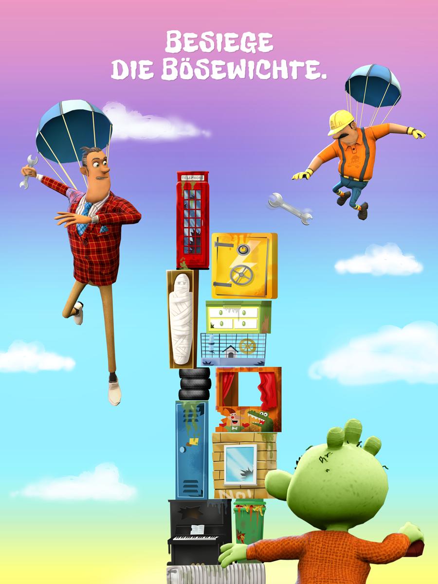 Die Olchis App für Kinder – Besiege die Bösewichte