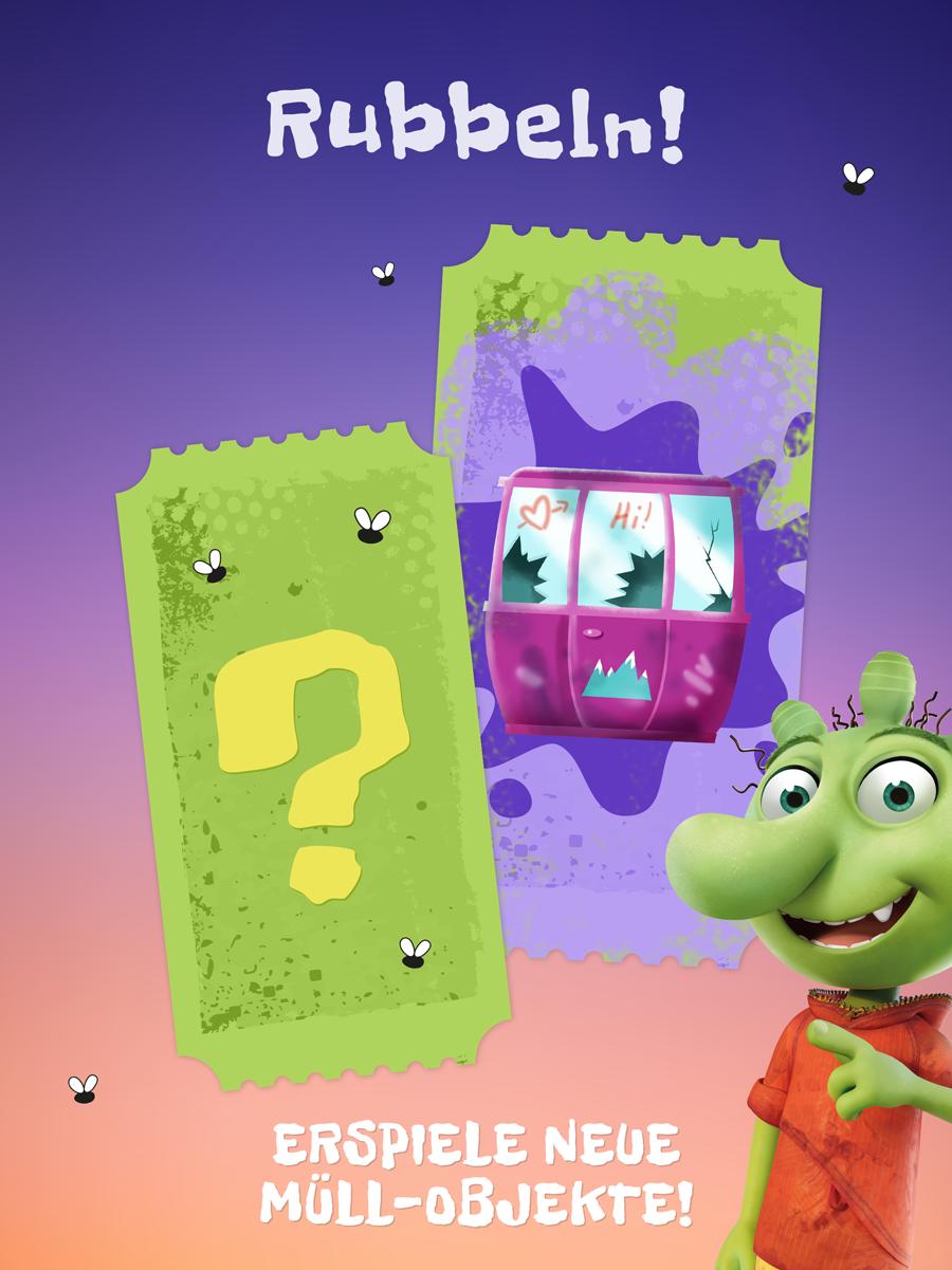 Die Olchis App für Kinder – Spiel für Kinder ab vier Jahren