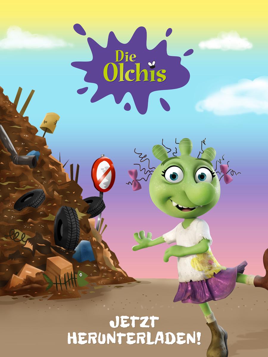 Die Olchis App für Kinde – für iOS und Android