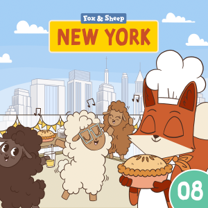 Rund um die Welt mit Fuchs und Schaf Hörspiel – Episode 08 New York