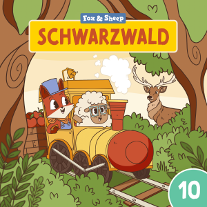 Rund um die Welt mit Fuchs und Schaf Hörspiel – Episode 10 Schwarzwald