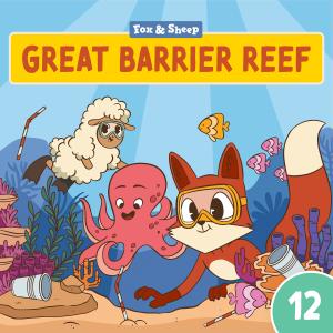 Rund um die Welt mit Fuchs und Schaf Hörspiel – Episode 12 Great Barrier Reef